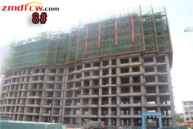 8#楼已建到12层