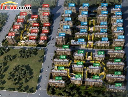 绿地天中城际空间站效果图