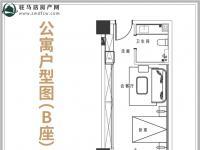 公寓户型B座