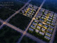 绿地天中城际空间站(鸟瞰图))