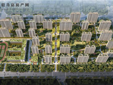 建业江山汇(鸟瞰图)