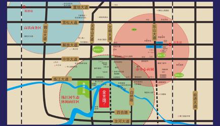 弘康·金水湾区域规划图